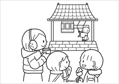 子供と動物のイラスト屋さん