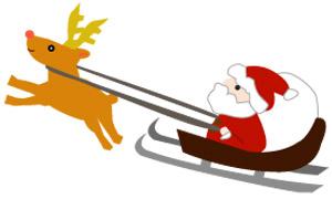 クリスマスイラストの定番デザイン