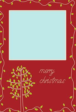 ペーパーミュージアムの本格的なクリスマスカード2
