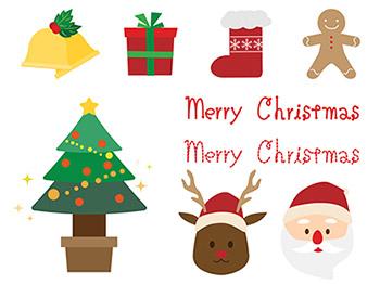 イラストACのクリスマス無料イラスト
