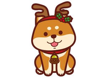 イラストボックスのクリスマス無料画像